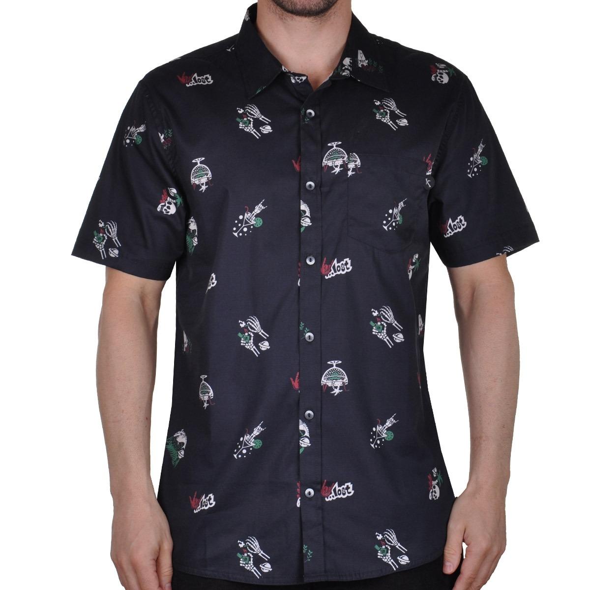 camisa lost vacation 4 ever - cut wave. Carregando zoom. e027a74f656