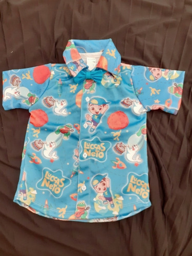 camisa luccas neto