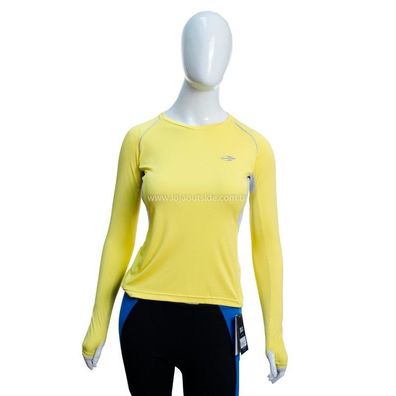 Camisa M. Longa De Poliamida Feminina Uv50+ Mormaii-amr.- M - R  104 ... a6b4699fed5