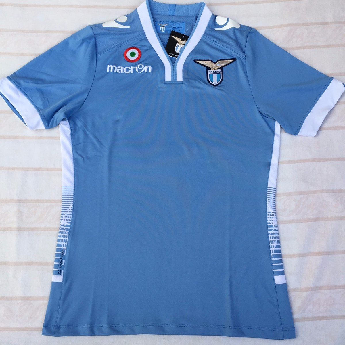 07d244a507 Camisa Macron Lazio Home 13 14 G Jogador Original Fn1608 - R  1.199 ...