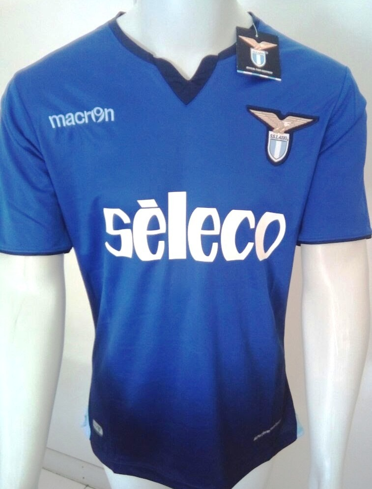 594042378d Camisa Macron Lazio Home 2018 Oficial - Azul - Frete Grátis - R  120 ...
