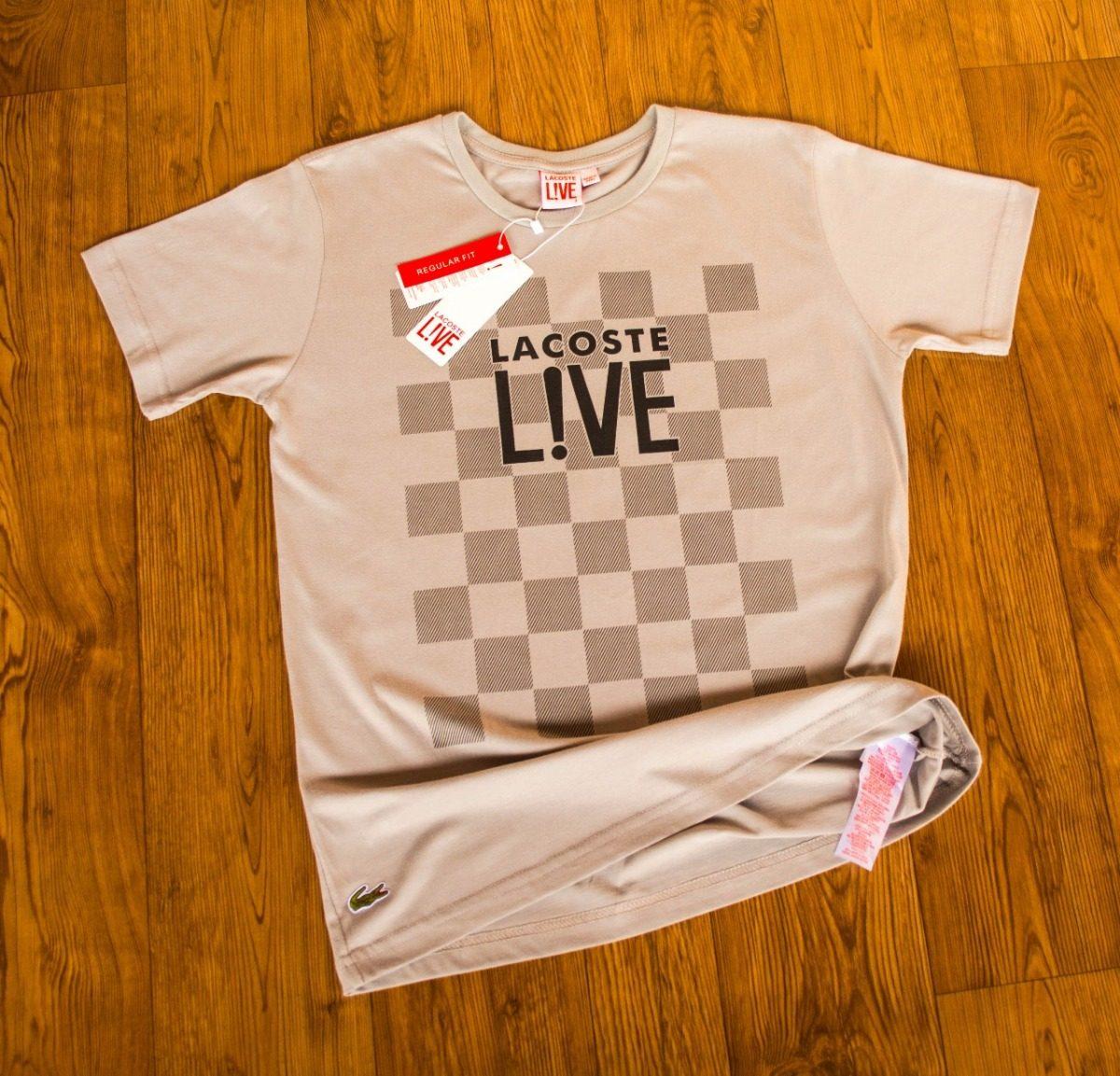 Camisa Maculina Lacoste Peruana Kit De Duas Peças - R  69,90 em ... d3ac18477b