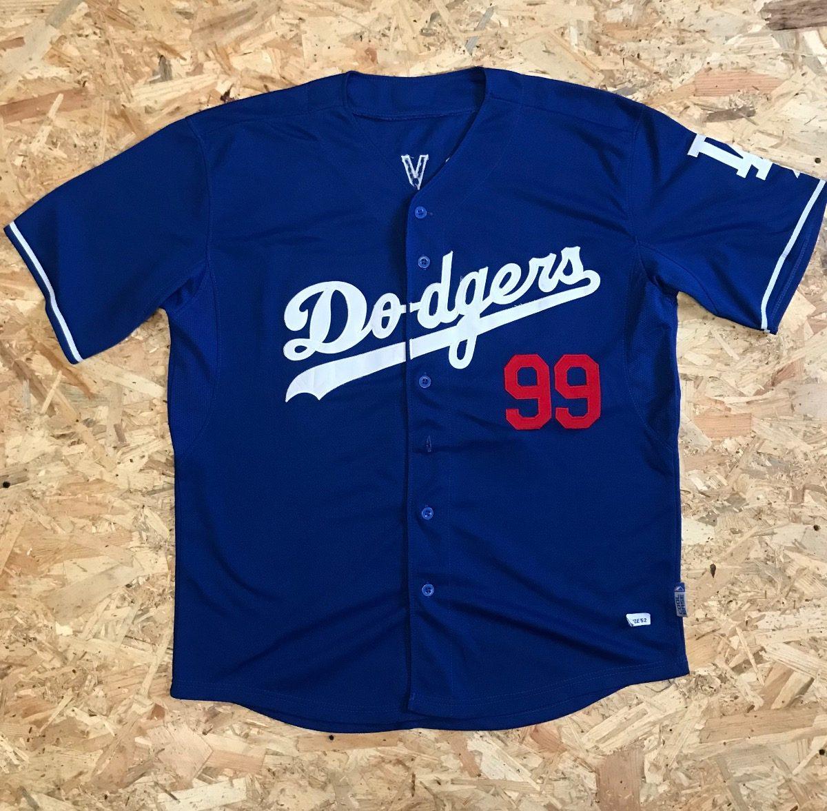 2523e282d Camisa Malla Jersey Beisbol Mlb Los Angeles Dodgers -   79.900 en ...