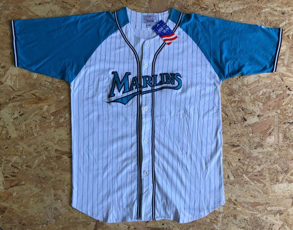 huge discount 43214 3dbf1 shop florida marlins vintage jersey 242cc 8becf