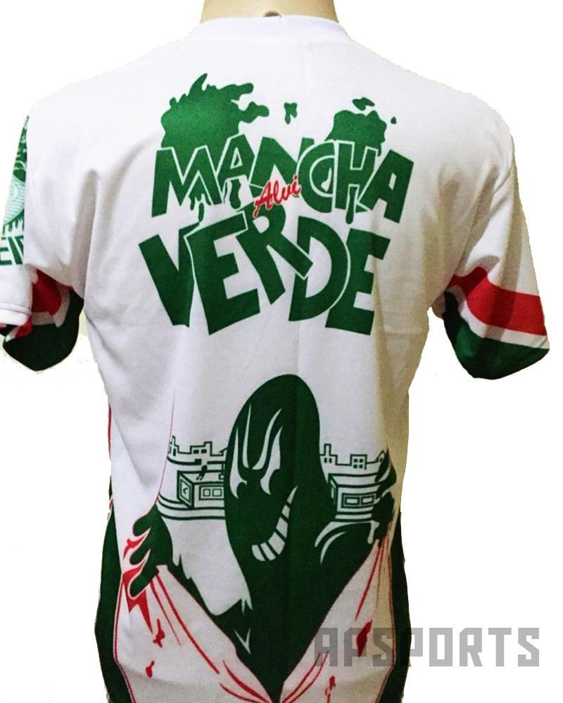 f8ea0548dd Camisa Mancha Verde Palmeiras Com A Mancha Ninguem Pode! - R  29