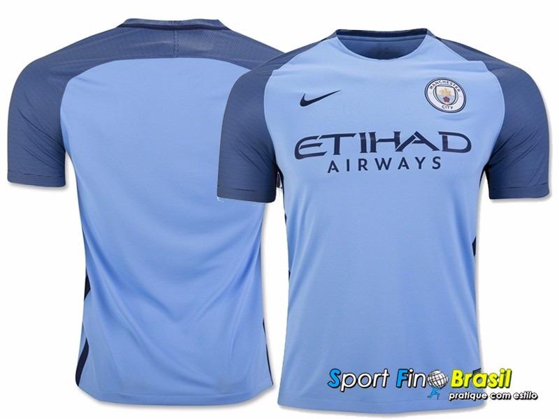 Camisa Manchester City 2016 17 - Kompany 7753647e8b998