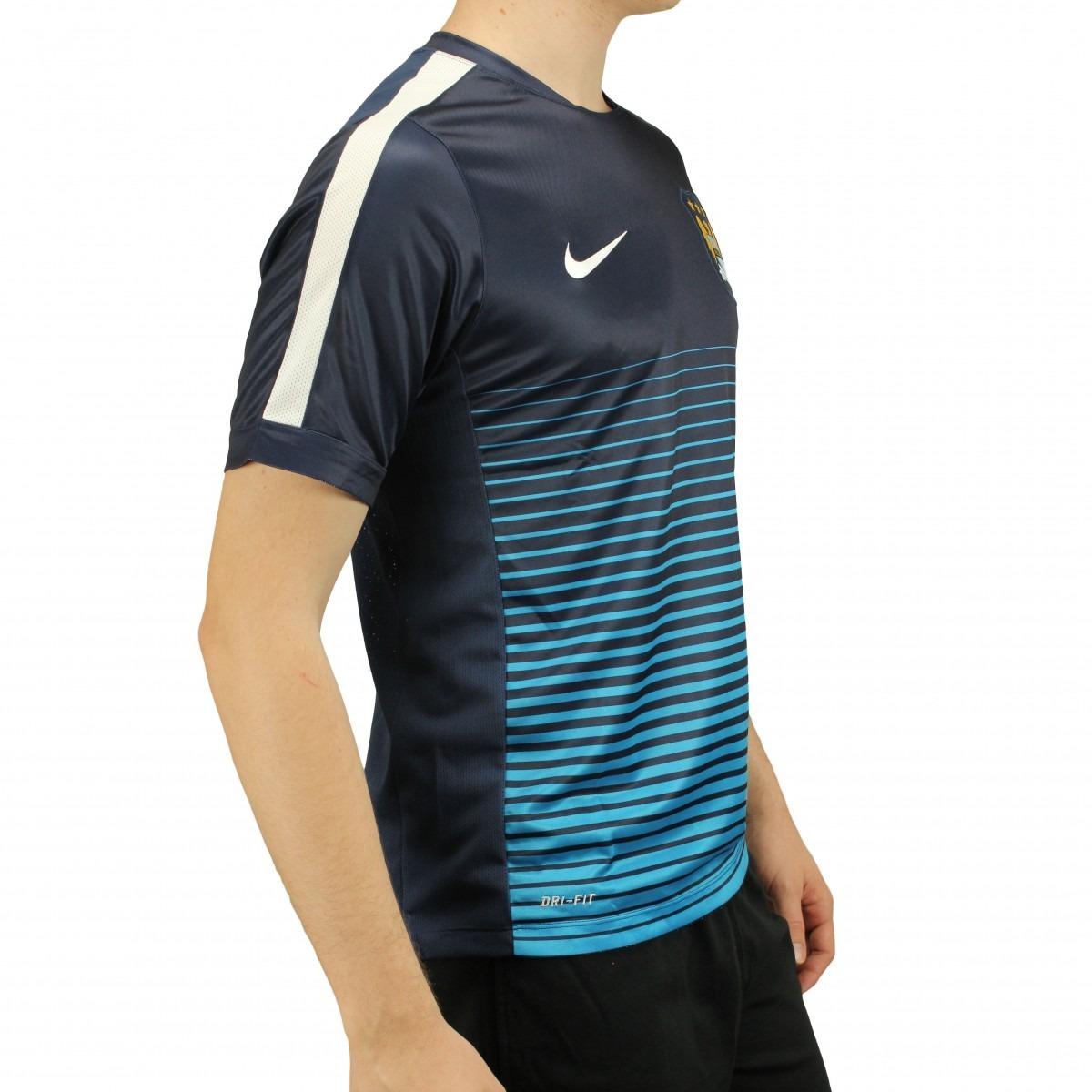 Camisa Nike Manchester City Pre Match 2014 - Loja Freecs - - R  149 ... 52c55fc824333