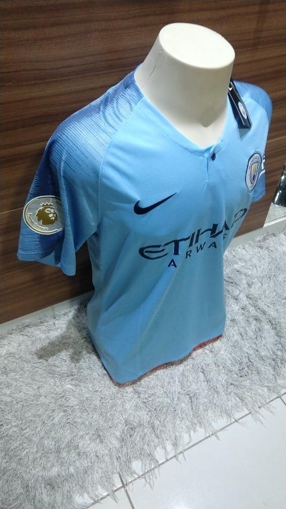 Camisa Manchester City Lançamento 2019 Gabriel Jesus  33 - R  129 948c82e80b735