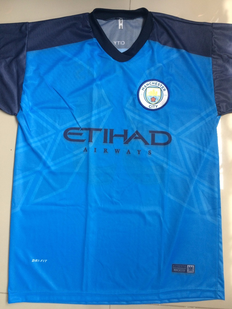 e8e20563c6e34 camisa manchester city azul gabriel jesus 2017 barata. Carregando zoom.