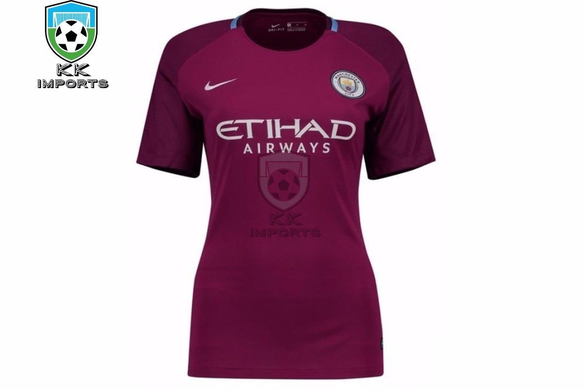88bd9cda13ced camisa manchester city feminina 17 18 unif 2 sob encomenda. Carregando zoom.