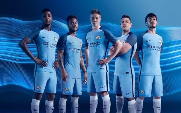 0cc1e999f9 Camisa Manchester City - Original - 2016/2017 - Frete Grátis - R ...