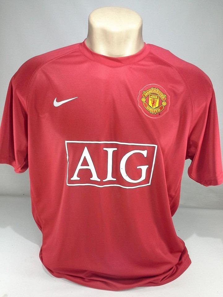 adc247d5066 camisa manchester united 2008. Carregando zoom.