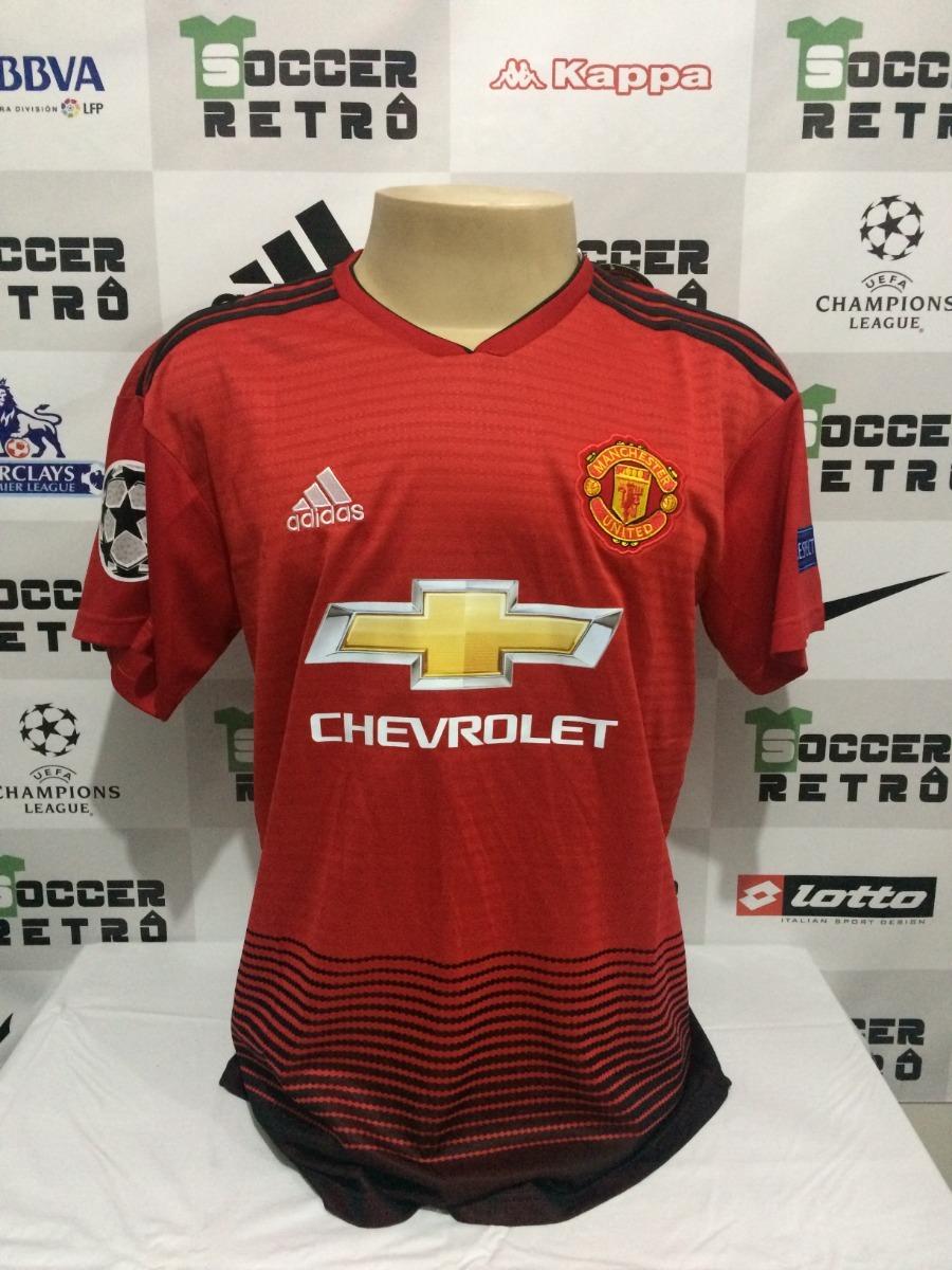 4b5be0c7e camisa manchester united 2018-19 pogba 6 champions league. Carregando zoom.