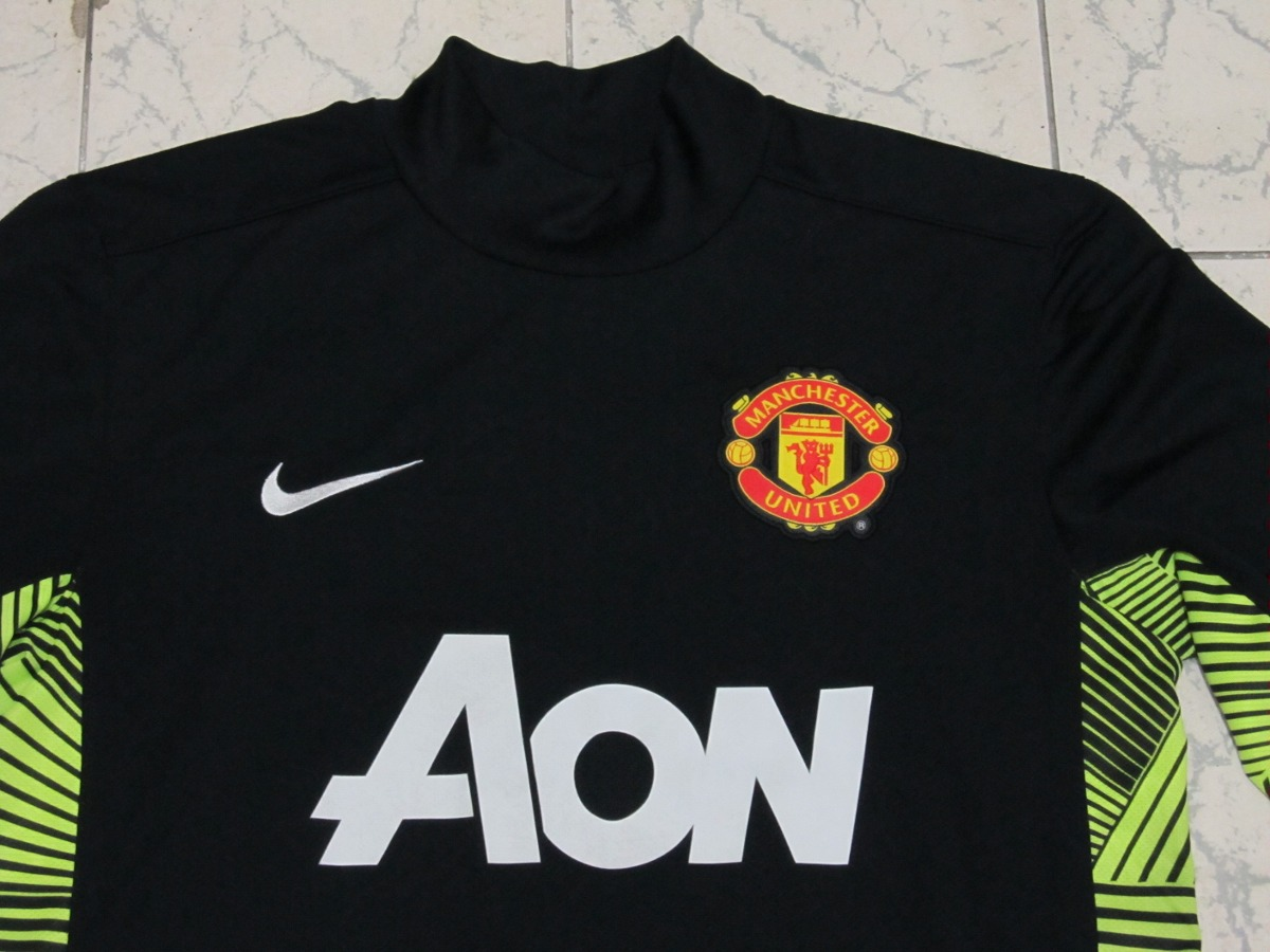 cecb7d8ff7 Camisa Nike Manchester United Goleiro Gk Preta 11 12 - Tam M - R ...