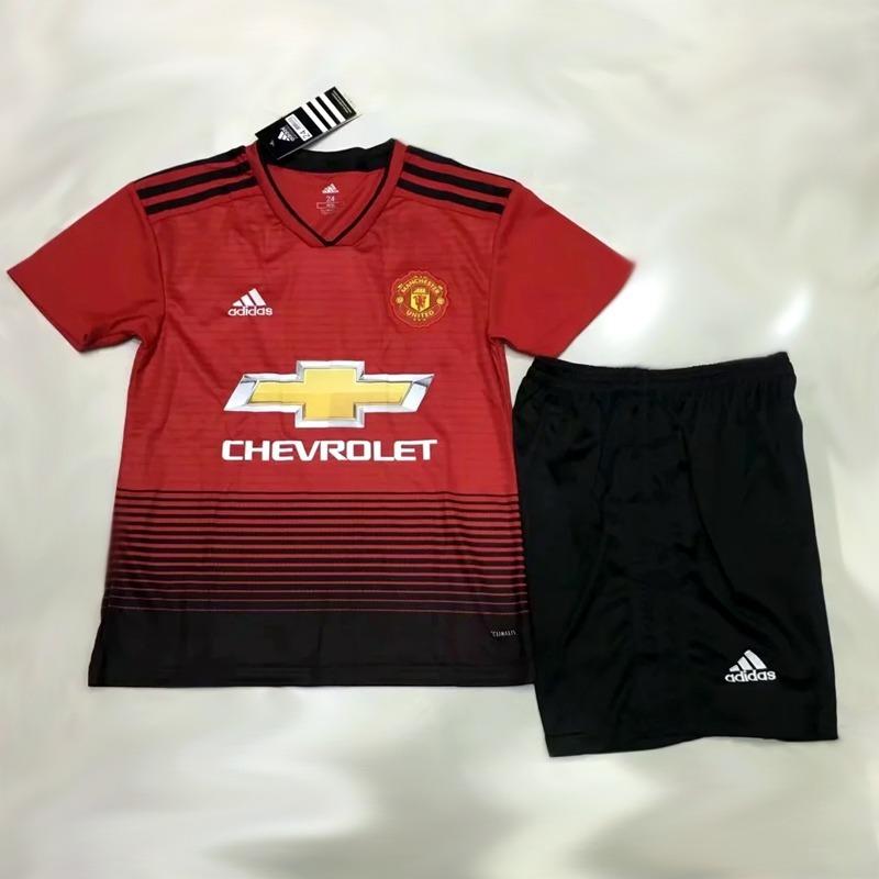 conjunto camisa shorts infantil manchester united home 2018. Carregando  zoom... camisa manchester united. Carregando zoom. 81103dd51dd42