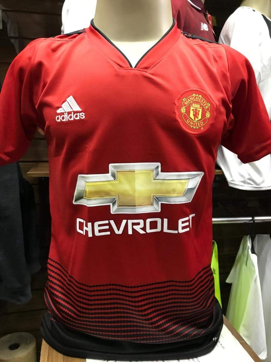 a83c4bd23 Camisa Manchester United Uniforme 2018 19 - Uniforme 1 - R  49