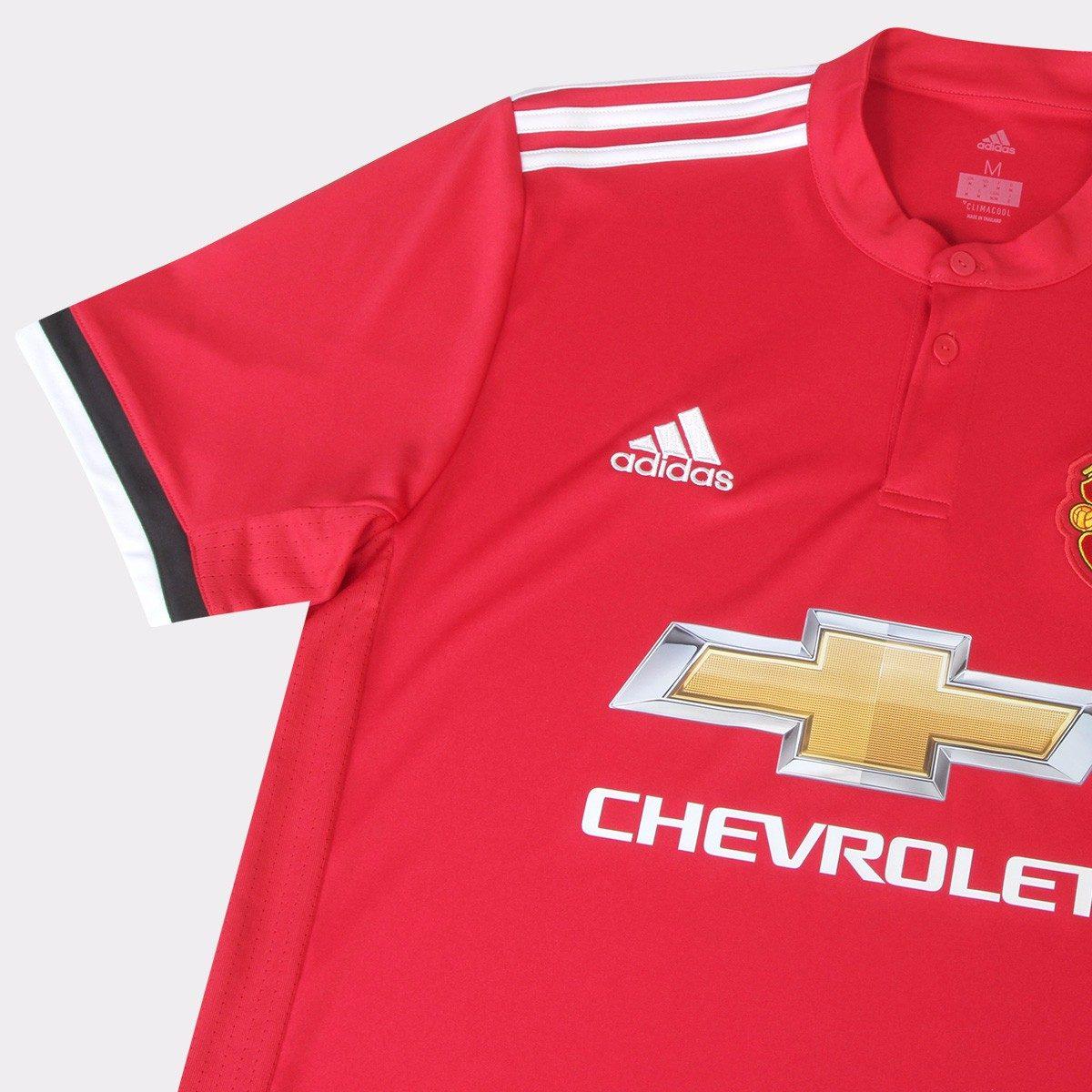 ea4f8036b Carregando zoom... manchester united camisa. Carregando zoom... camisa  manchester united adidas home 2017 2018 nº9 lukaku