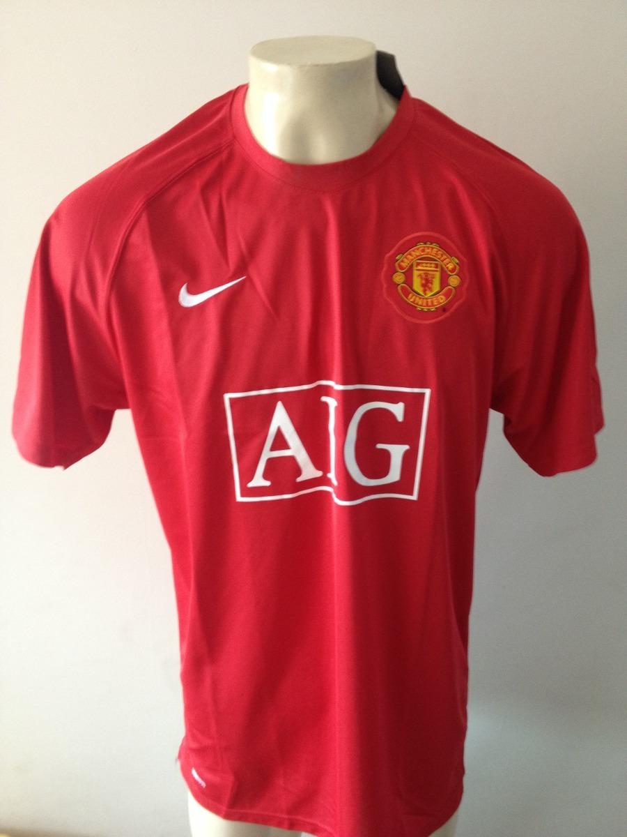 camisa manchester united campeao champions 2008 na etiqueta. Carregando  zoom. ba00730f66a3e