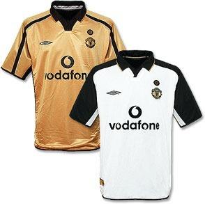559305be4 Camisa Manchester United Centenário 100 Years 1902-2002 - R  199