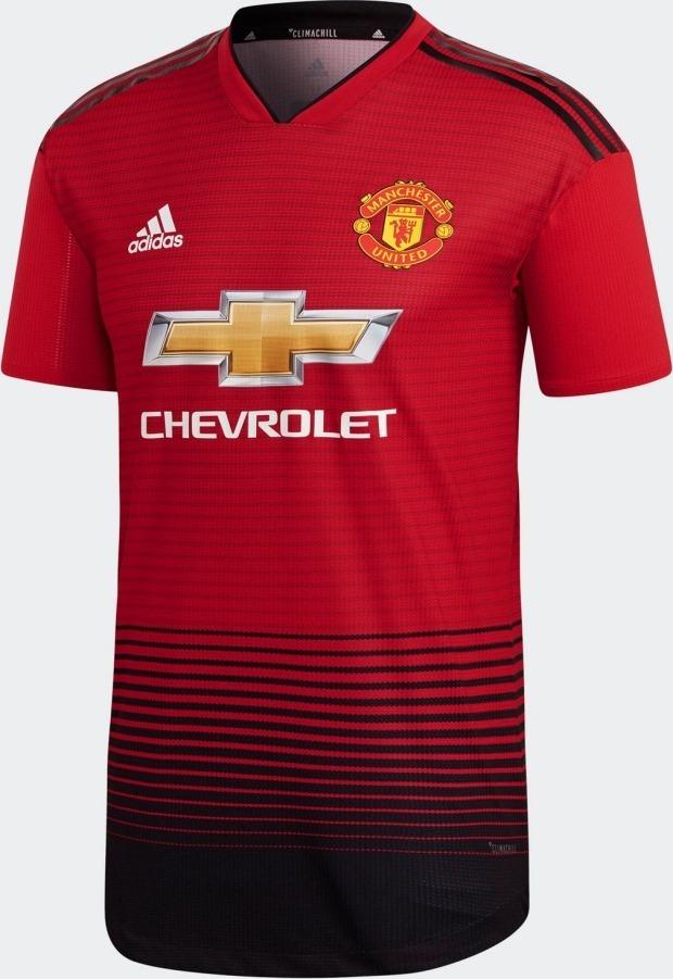 fca1c7e6d3fc1 camisa manchester united home 18 19 - home. Carregando zoom.