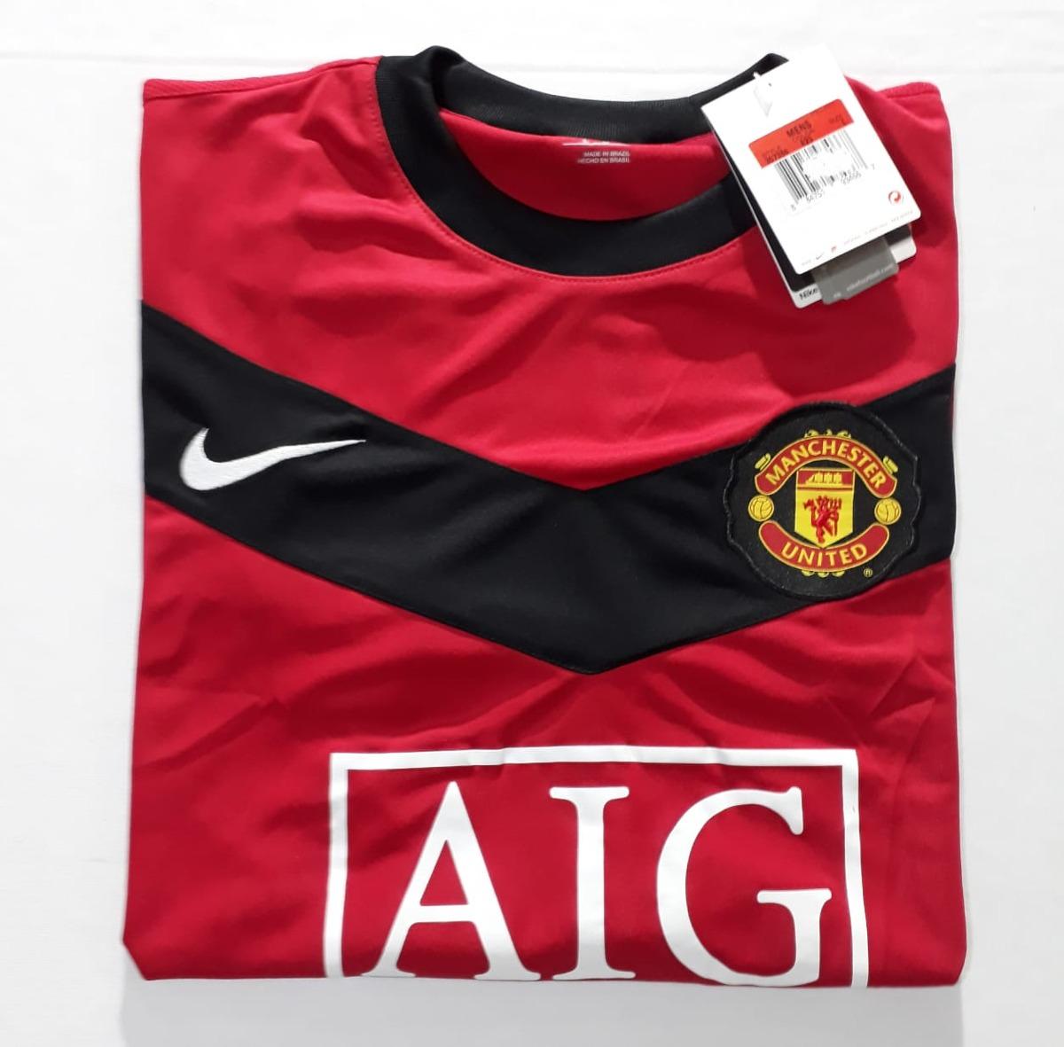 264fc85301 camisa manchester united home nike temporada 09 10. Carregando zoom.