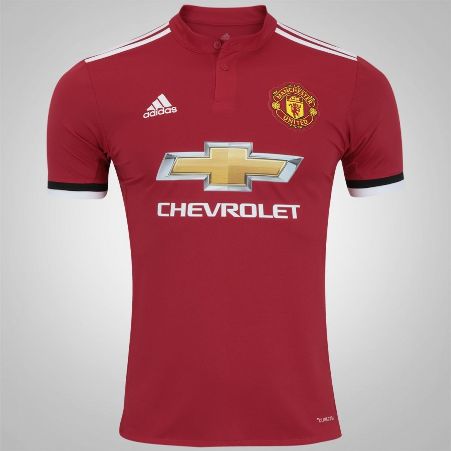 Camisa Manchester United I 17 18 adidas - Bs1214 - R  199 90d53073ce55a