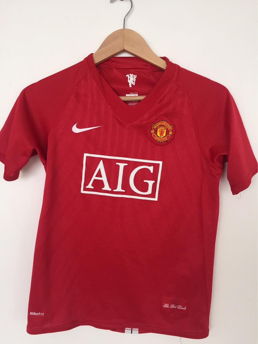 10e13ba4e5 Camisa Manchester United Infantil - R$ 65,00 em Mercado Livre