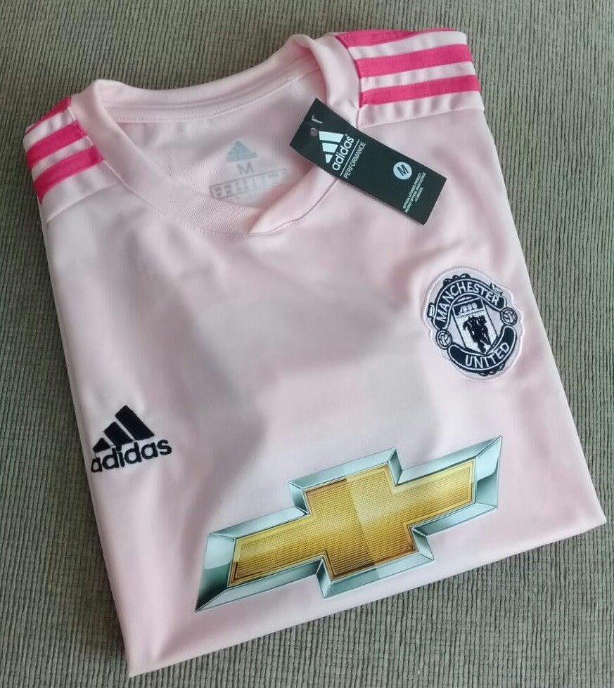 491f1012f camisa manchester united rosa 2018 2019 pronta entrega nova. Carregando  zoom.