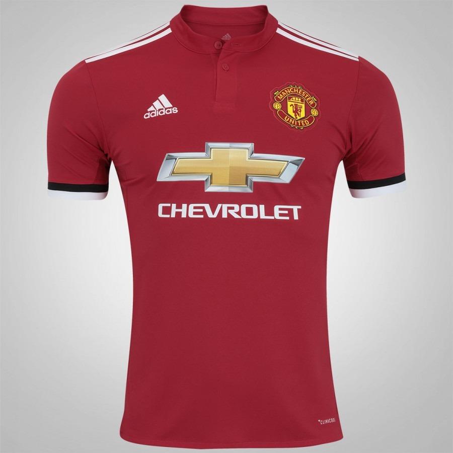 3a313ff019 camisa manchester united uniforme 2 pronta entrega 2018 2019. Carregando  zoom.