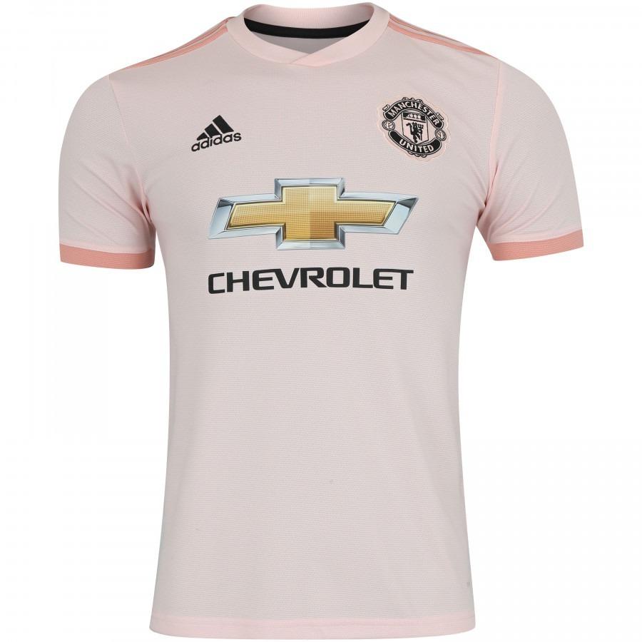 bbc7369d5 camisa manchester united uniforme 2 pronta entrega 2018 2019. Carregando  zoom.