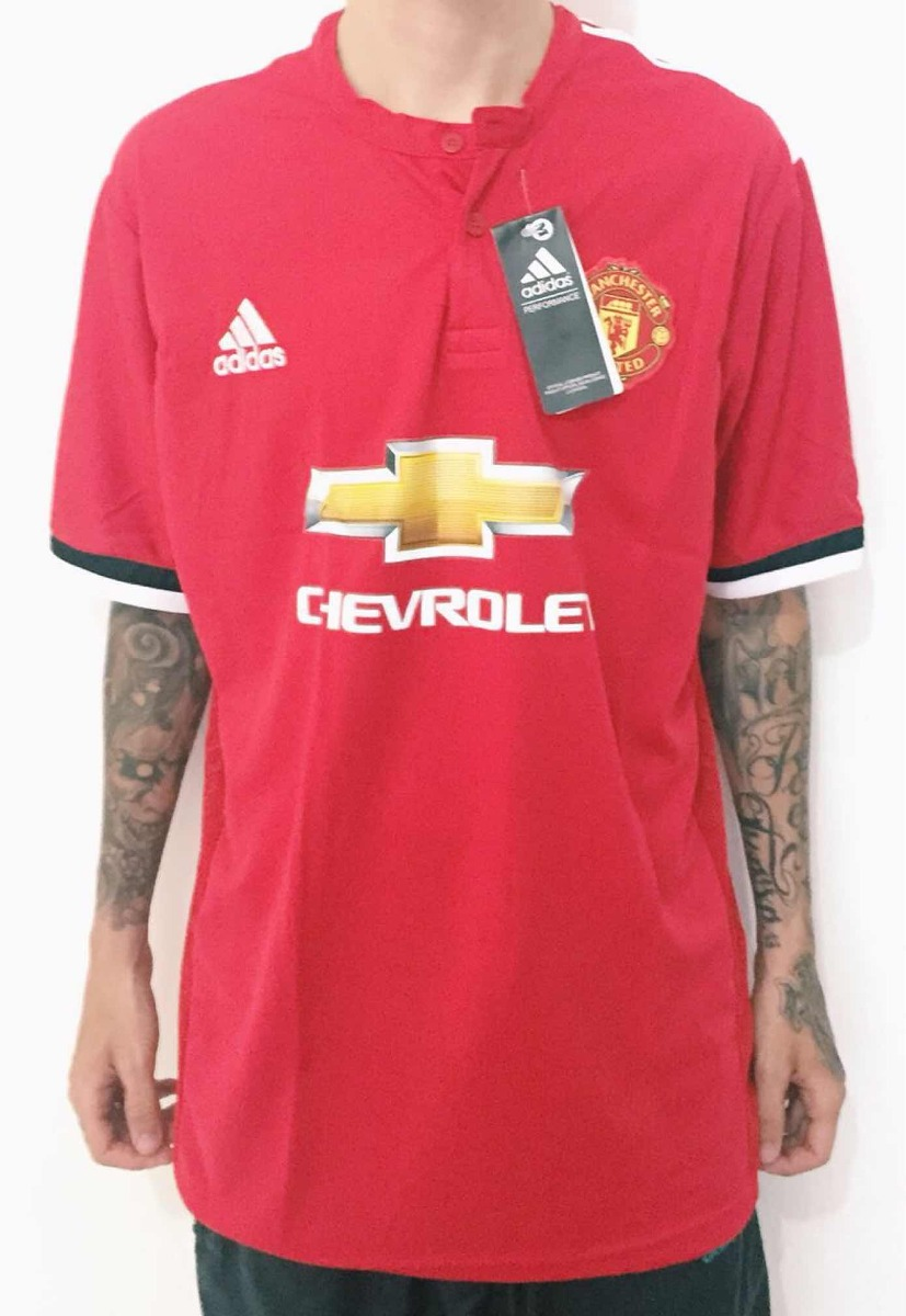 1c396e617 camisa manchester united vermelha adidas nova 2018 número. Carregando zoom.
