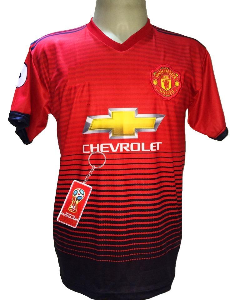 7e0cba7c1d Camisa Manchester United Vermelha Pogba 2019 - R$ 29,90 em Mercado Livre