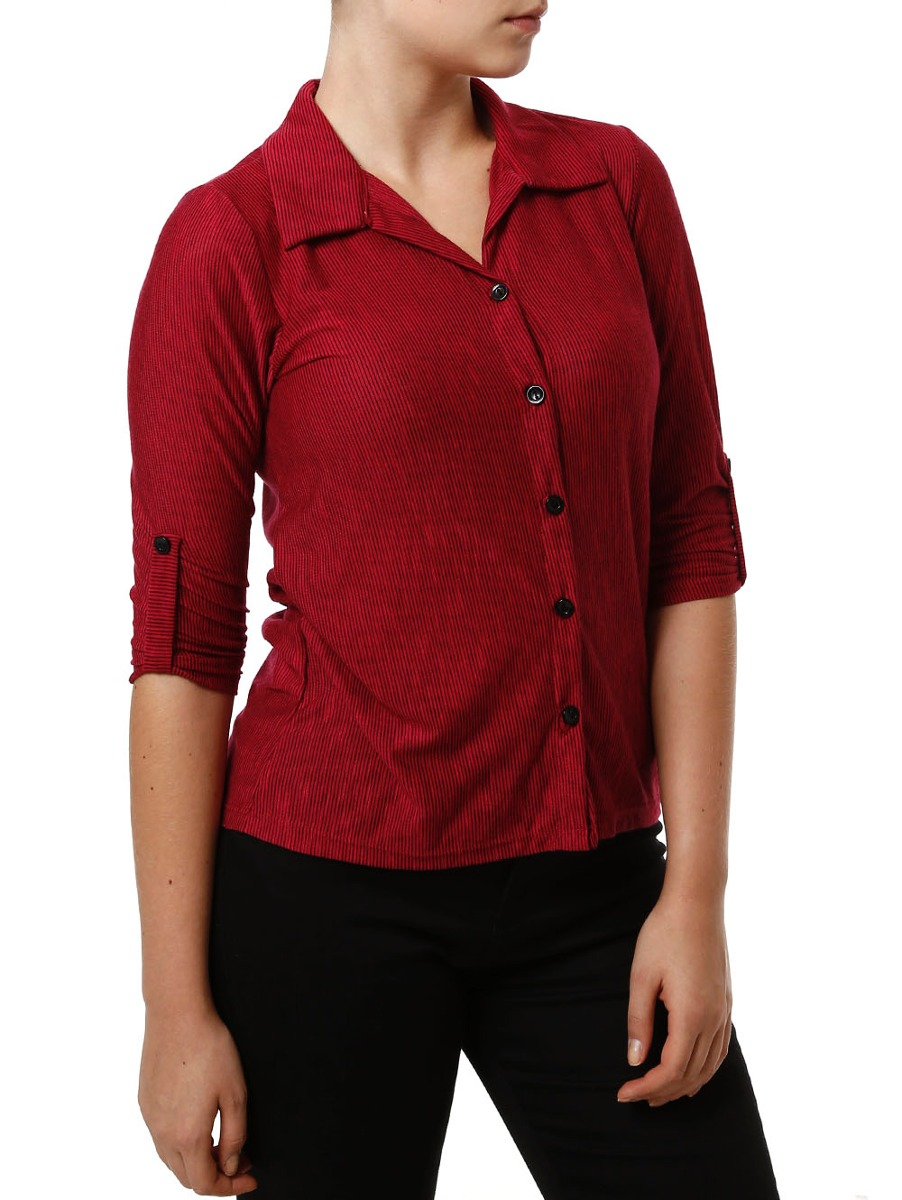 e6b1fbf1ab camisa manga 3 4 feminina autentique preto rosa. Carregando zoom.