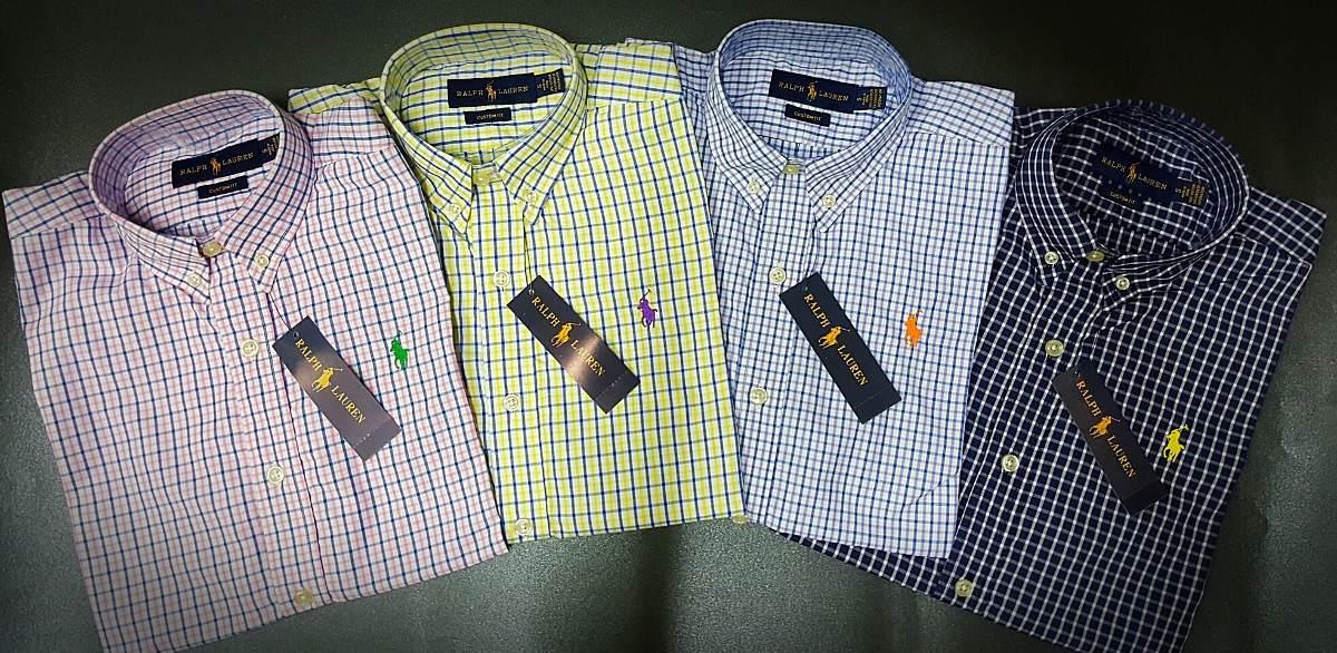 Camisa Manga Corta Cuadros Polo Ralph Lauren Hombre -   119.900 en ... fd475466a1d