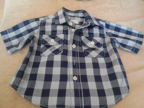 camisa manga corta epk talla 6 meses