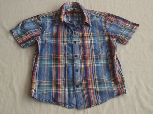 camisa manga corta old navy niño talla medium  #0001/m