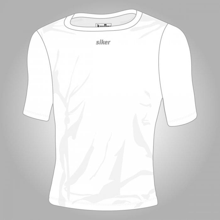 Camisa De Compressão Térmica Manga Curta Siker Segunda Pele - R  49 ... a07c9b6ea7893
