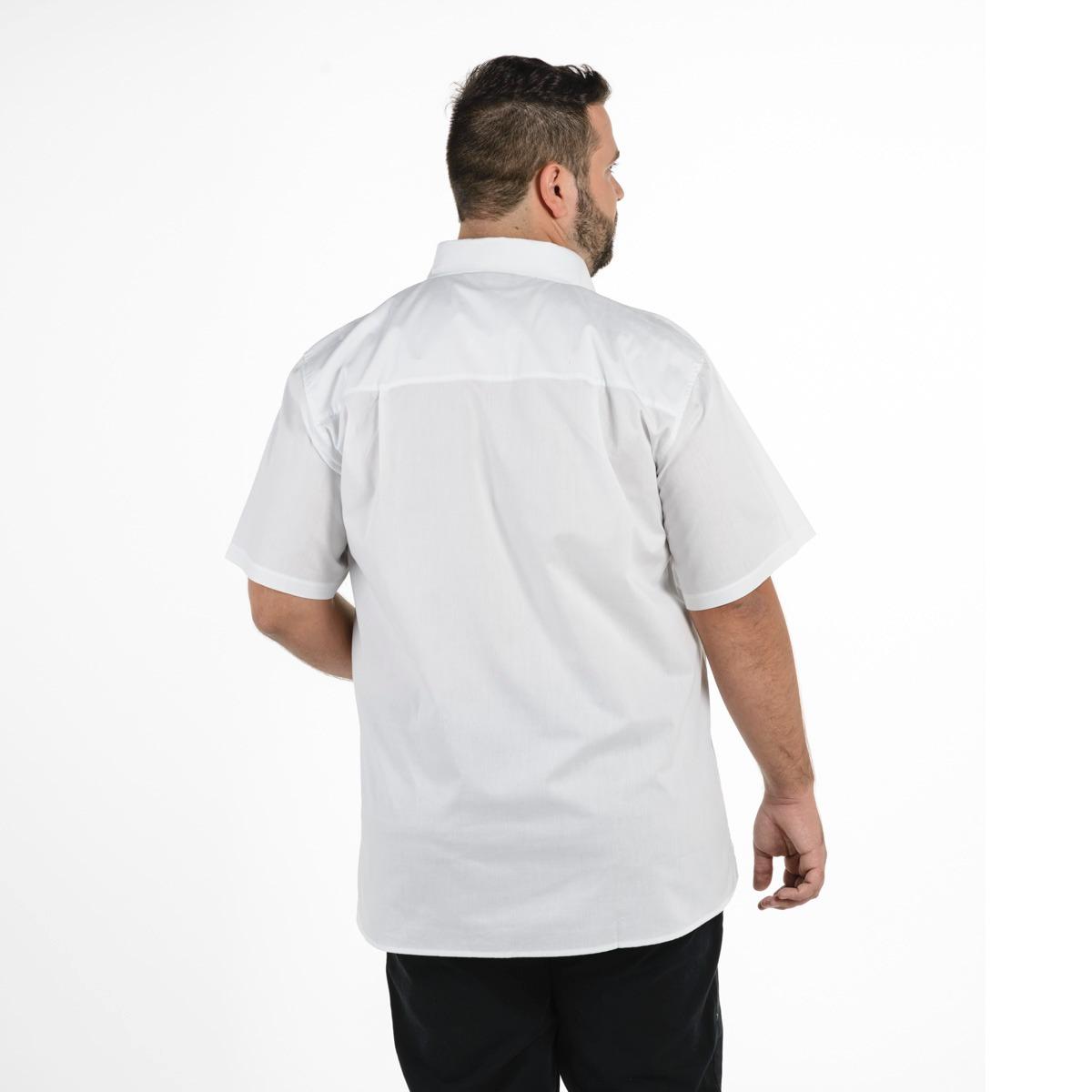 camisa plus size masculina tradicional manga curta mais pano. Carregando  zoom... camisa manga curta. Carregando zoom. ac1da1faa41