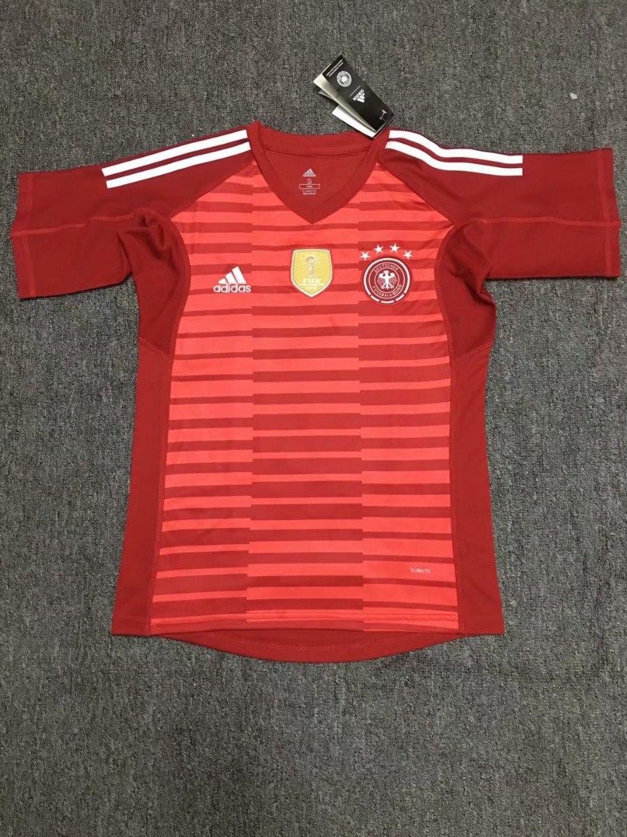 camisa manga curta goleiro seleção da alemanha copa 2018. Carregando zoom. c091c81febd60