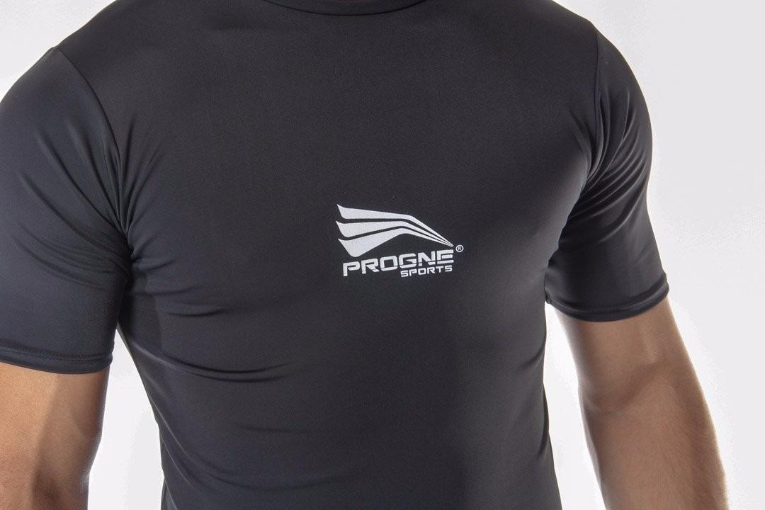 camisa manga curta térmica segunda pele proteção uv50 progne. Carregando  zoom. 8226dcb42b97f