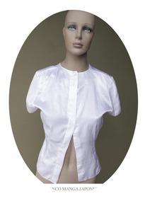 Manga Americana Camisita Camisa Feria Japonesa Mujer Blusa SUzMVp