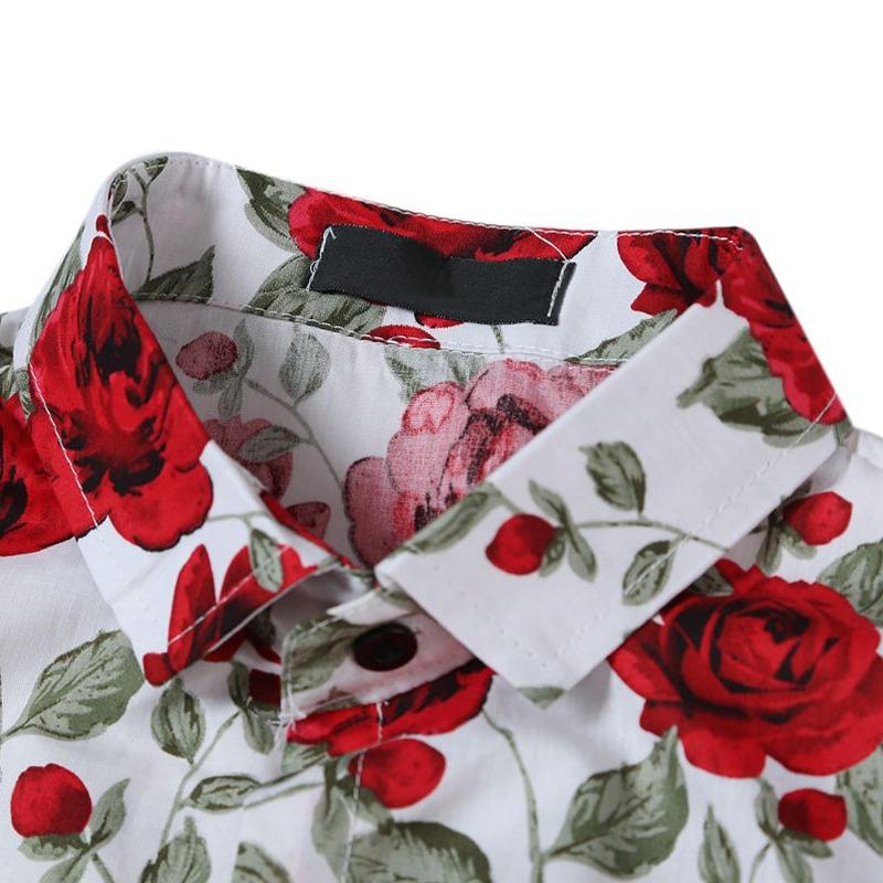 22a4fb618bb7d camisa floral de manga larga con flores para hombres. Cargando zoom... camisa  manga larga. Cargando zoom.
