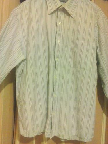 camisa manga larga de caballero