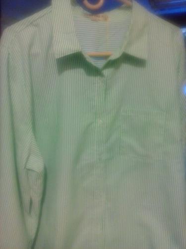 camisa manga larga de caballero talla grande 3xl, 5xl