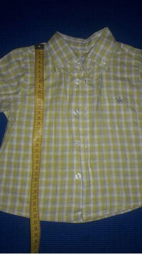 camisa manga larga epk 18meses