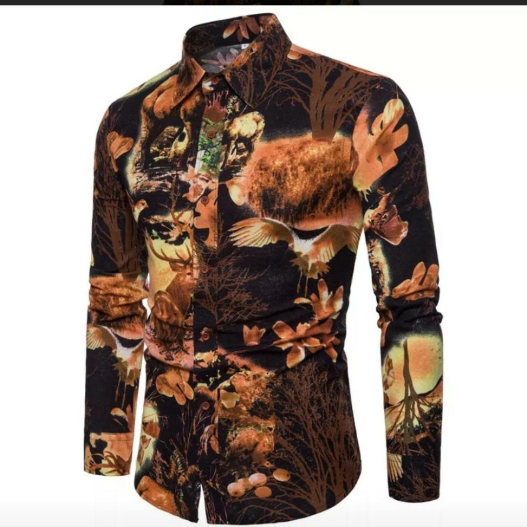 camisa manga larga extravagante sofisticada de importacion. Cargando zoom. 427ae9955a7