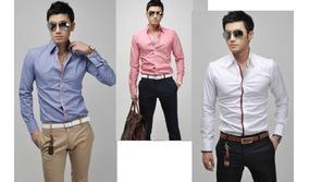 fd3ac2861ac6 Camisa Para Caballero Marca Bellini - Camisas Formal de Hombre Larga Azul  acero en Mercado Libre México