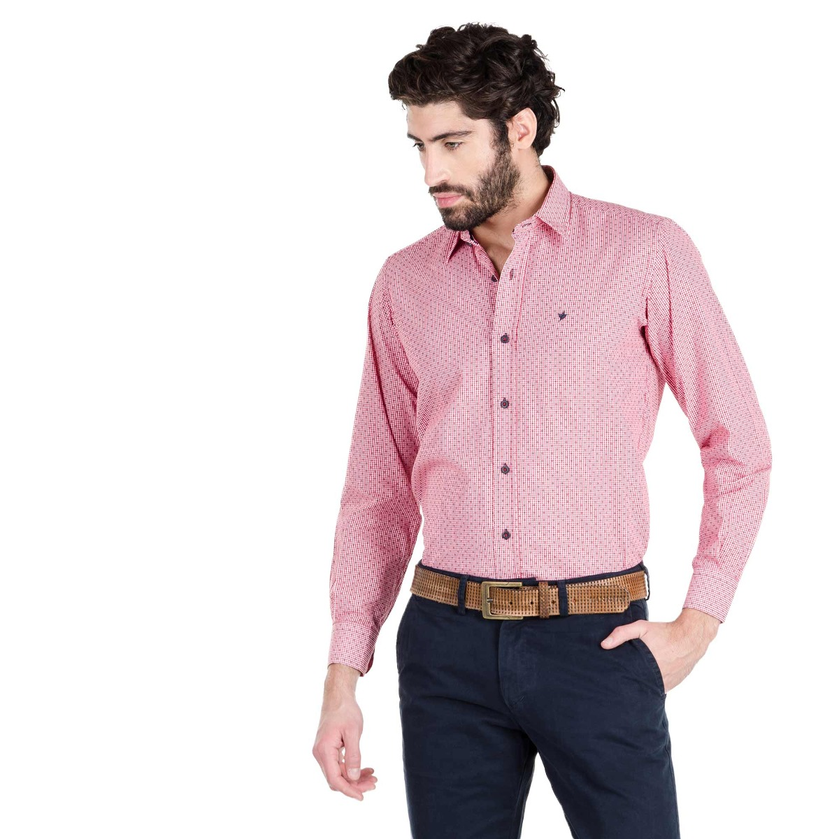 Hombre Grant Manga Tannery Larga Camisa Y7f6gvyb
