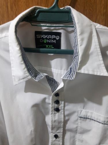 camisa  manga larga impecable talle xl - xxl nueva