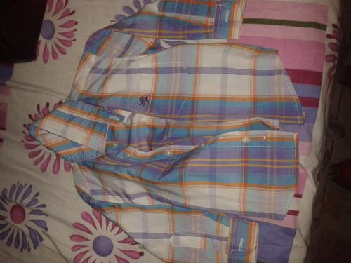 camisa manga larga niño